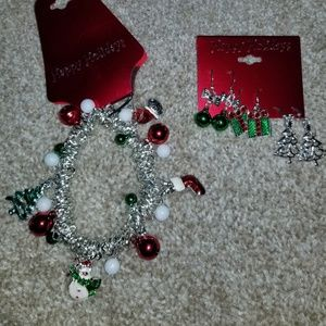 Christmas Jewelry Earrings & Necklace